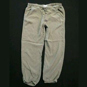 Cloth & Stone Olive green Lounge pants Joggers